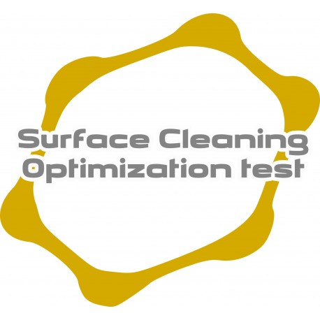 Surface cleaning optimization test